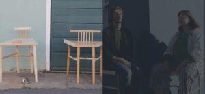 Mujer construye sillas especiales para que los hombres cierren sus piernas al sentarse