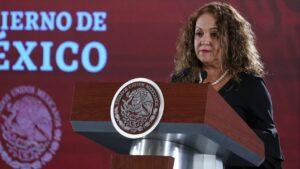 En Notimex había huachicoleo: Sanjuana Martínez
