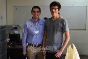 Ayuntamiento de Veracruz beca a estudiante que ofrece clases gratis de matemáticas