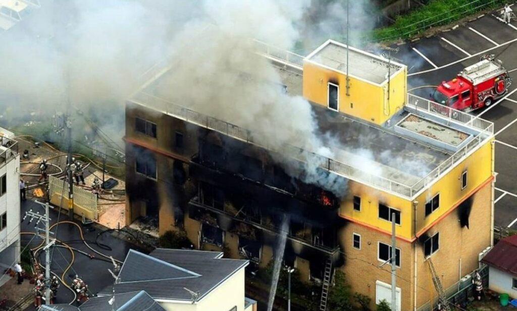 Incendio en estudio Kyoto Animation, en Japón, deja al menos 33 muertos y 40 heridos