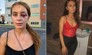 Sujeto golpea a una joven por haberlo rechazado
