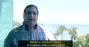 Javier Duarte dice en video que pactó su entrega con el gobierno de EPN