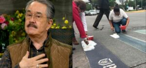 Pedro Sola critica a mujeres que pintaron de blanco cruce peatonal dedicado a la comunidad LGBT