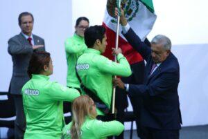 Atletas mexicanos también desfilarán en pants para la inauguración de los Juegos Parapanamericanos