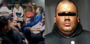 Detienen a uno de los sujetos que robó a pasajeros en Chalco