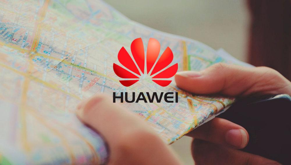Huawei tendrá su propio servicio de mapas para su sistema operativo