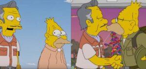 Un capítulo de Los Simpson revela que el padre de Homero tuvo un romance gay