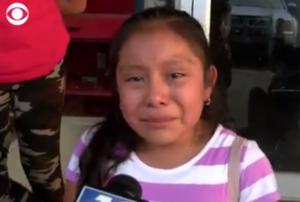 """""""No es un criminal"""": niña suplica que liberen a su papá detenido en redada contra migrantes"""