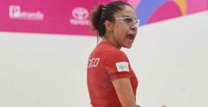 Laraquetbolista mexicana Paola Longoria se lleva el oro y es tricampeona de Panamericanos