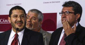 """Martí Batres acusa a Ricardo Monreal de """"ensuciar"""" la elección de la Mesa Directiva del Senado"""