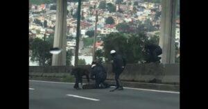 Conductor graba persecución y balacera en Periférico Norte de la CDMX