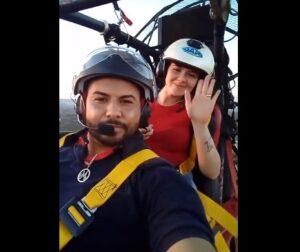 Una pareja muere un día antes de su boda durante un vuelo en parapente