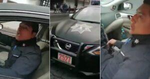 Cesan a policías de Toluca que extorsionaron a un joven para no sembrarle droga