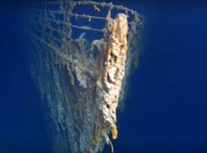 Primeras imágenes en 4K del Titanic muestran su avanzado deterioro