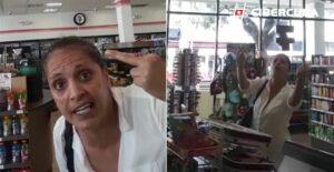 """""""Los latinos apestan"""": una mujer racista insulta a un empleado de una tienda en Florida"""