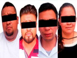 Detienen a banda de colombianos que robaban en casas