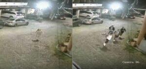 Mujer amenaza con un cuchillo a jóvenes en la CDMX