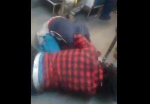 Una mujer y un hombre protagonizan una pelea en el Metro de la CDMX