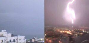 Más de 2 mil rayos caen en Seattle durante una tormenta eléctrica
