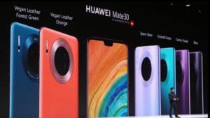 Huawei presenta sus nuevos teléfonos Mate 30 y Mate 30 Pro