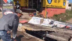 Tapan alcantarilla en Culiacán tras muerte de joven