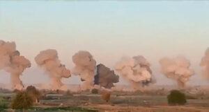 EU lanza 36 toneladas de bombas contra una isla ocupada por el Estado Islámico