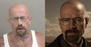 Policía busca a un reo que sorprende por su parecido con Walter White