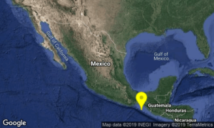 Se registra sismo de 4.7 con epicentro en Pijijiapan, Chiapas