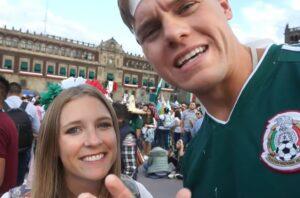 Youtubers estadounidenses celebran las Fiestas Patrias en México