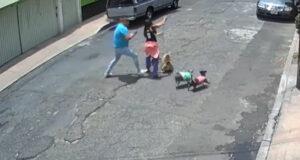 Hombre amenazó de muerte a su vecina tras derribarla por la espalda