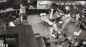 Difunden en redes sociales el video del ataque armado a un bar en Uruapan
