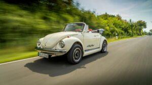 Volkswagen crea una versión eléctrica de su clásico vocho