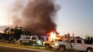 Fallece niño por quemaduras provocadas por hombres armados en Sonora