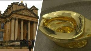 Roban inodoro de oro valuado en 1 millón de libras en Londres