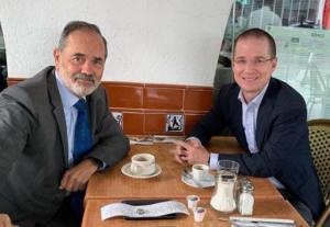 Ricardo Anaya se reunió con Gustavo Madero para preparar su regreso a la política