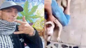 """Identifican a """"El Orejas"""" como el agresor de un perro en Iztapalapa"""