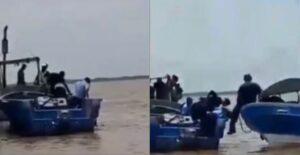 Policía nicaragüense deja morir ahogado a un joven que pedía ayuda