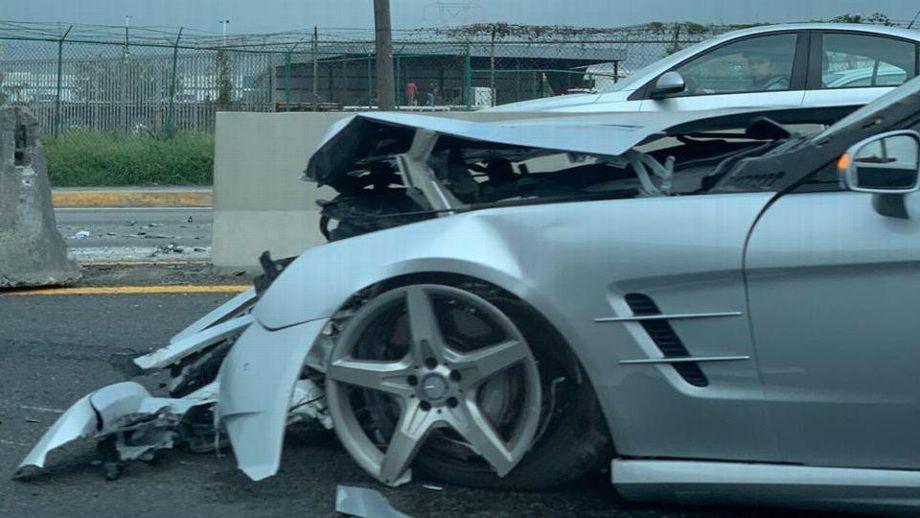 """Ricardo """"Tuca"""" Ferretti sufre accidente automovilístico en la carretera"""