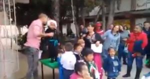 """¡Viva México, Viva Allende, Viva su jefa"", grita pequeño Hidalgo en un kinder"