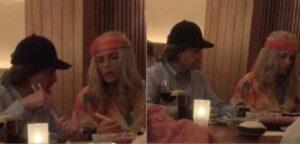 Peña Nieto y Tania Ruiz se disfrazan para evitar ser reconocidos en un restaurante de NY