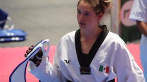 Taekwondoína mexicana representará a Italia rumbo a Tokio 2020