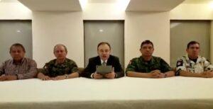 """Guardia Nacional fue atacada en patrullaje de rutina y encontraron a hijo del """"Chapo"""": Alfonso Durazo"""
