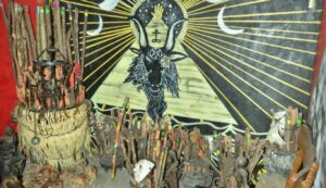 Descubren altares santeros, túneles y narcolaboratorios de la Unión Tepito durante operativo