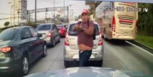 """""""Dame el celular o te meto un plomazo"""": conductor exhibe a sujeto que lo asaltó en Cuajimalpa"""