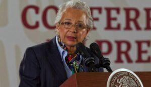 Sánchez Cordero considera que México está listo para tener a una mujer presidenta