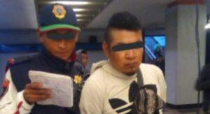 Sujeto es detenido por eyacular sobre dos mujeres en el Metro de la CDMX