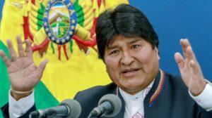 En medio de protestas, Evo Morales renuncia como Presidente de Bolivia