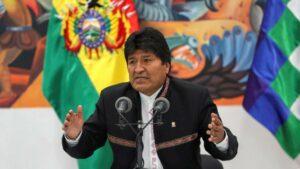 Gobierno de Bolivia acusa a Evo Morales de organizar protestas desde México