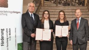 Científica mexicana recibe el premio Von Behring-Röntgen en Alemania