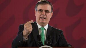 México no permitirá una violación a su soberanía, dice Ebrard ante anuncio de Trump